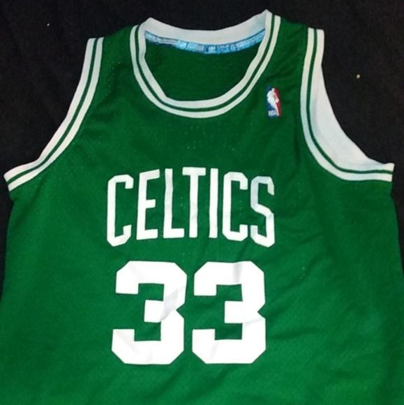 NBA Boston Celtics larry bird jersey